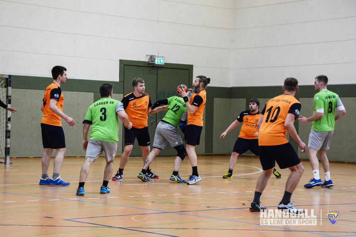 Laager SV03 Gegen HSG UNI Rostock