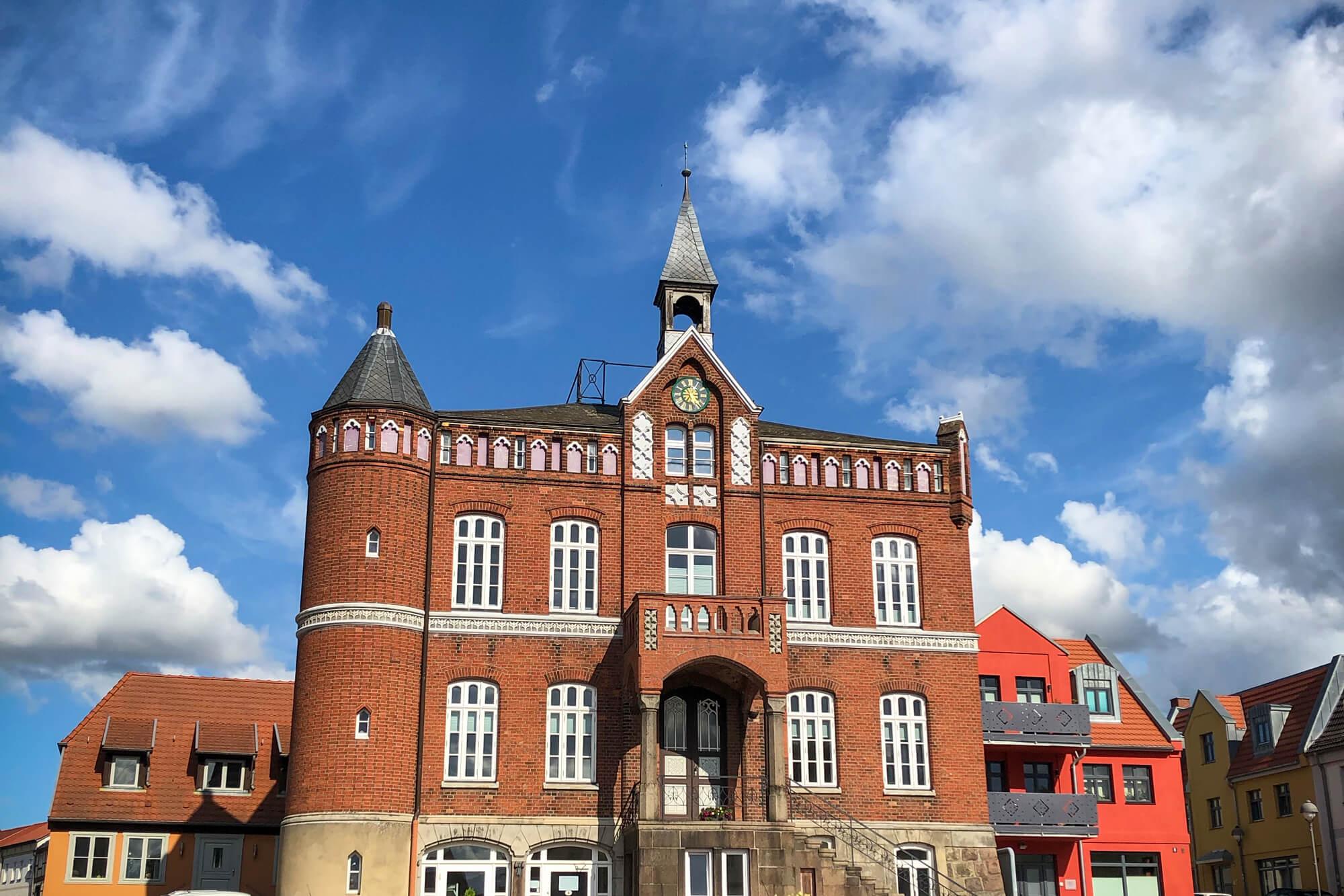 Rathaus Stadt Laage